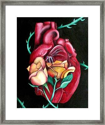 Mi Corazon Framed Print