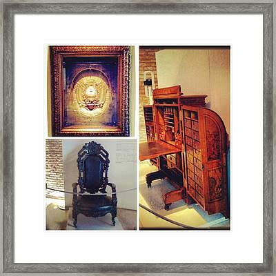 Mi Visita Al Museo Del Bicentenario!! Framed Print by Pablo Grippo