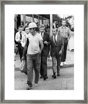 Miami Meyer Lansky Right, Reputed Framed Print