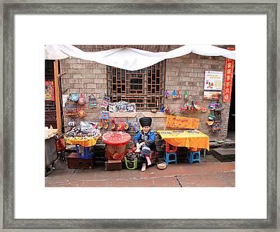 Miao Minority Women Framed Print