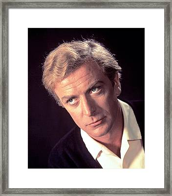 Michael Caine, Circa 1966 Framed Print by Everett
