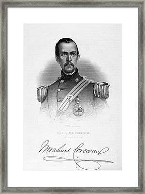 Michael Corcoran (1827-1863) Framed Print by Granger