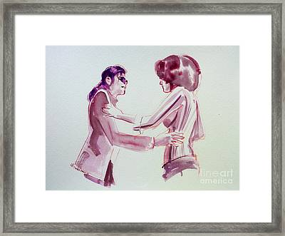 Michael Jackson - Just Can't Stop Loving You Framed Print