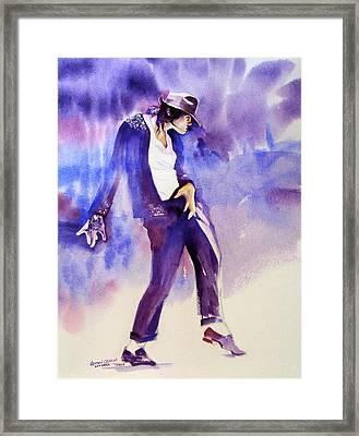 Michael Jackson - Not My Lover Framed Print