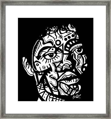 Michael Jackson Framed Print by Kamoni Khem