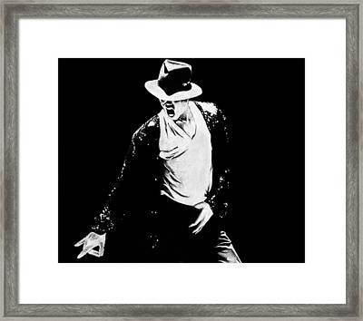 Michael Framed Print by Jeff Stroman