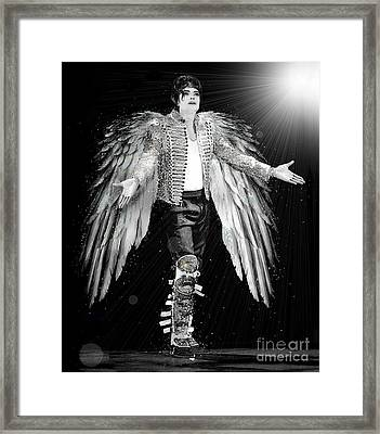 Michael King Of Angels Framed Print