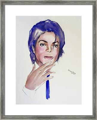 Michael...1984 Framed Print by Hitomi Osanai