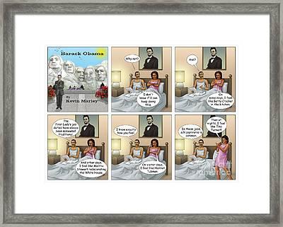 Michelle's Crisis  Framed Print