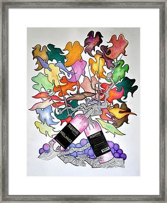 Michigan Wine Framed Print by Glenn Calloway
