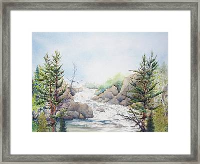 Michigan's Upper Peninsula Framed Print