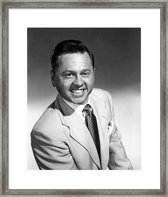 Mickey Rooney, Mgm, Ca. 1950 Framed Print