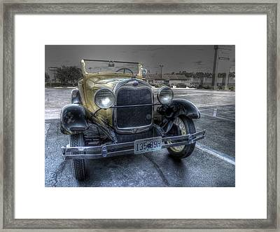 Mickey's Car Framed Print by William Fields