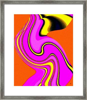 Micro Linear 23 Framed Print by Will Borden