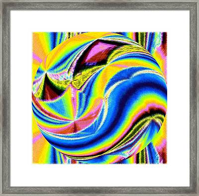 Micro Linear 28 Framed Print by Will Borden