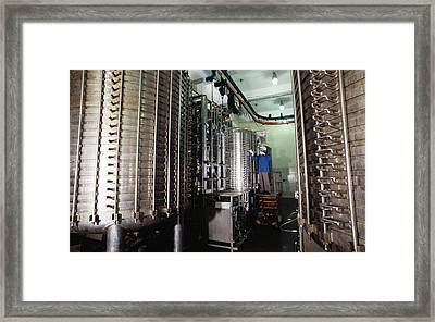 Microbe Fermentation Unit Framed Print by Volker Steger