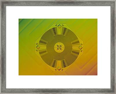 Micromechanical Accelerometer Framed Print by Volker Steger