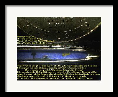 Art In The Eye Of A Needle Framed Prints