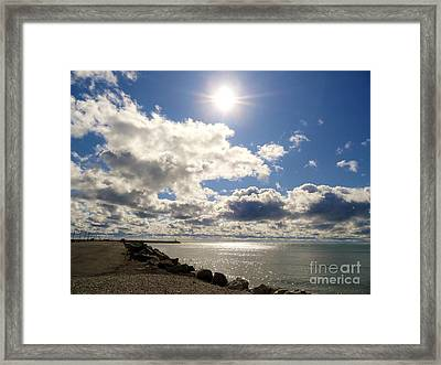 Mid Day  Framed Print by Elizabeth Hernandez