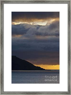 Mid-summer Night Blues Framed Print by Heiko Koehrer-Wagner