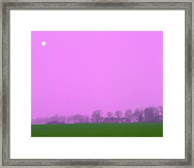 Mid-summer Storm Framed Print by Jan W Faul