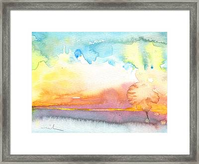 Midday 26 Framed Print by Miki De Goodaboom