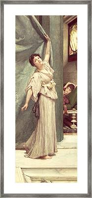 Midday Slumbers  Framed Print by Sir Lawrence Alma-Tadema