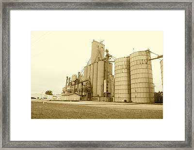 Middle America Framed Print by Thomas Brown