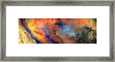Middle Sky On The Suns Road Framed Print by Dayton Claudio
