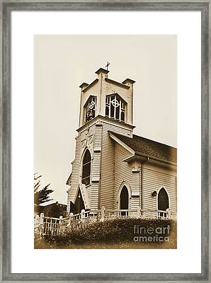 Middleton Cburch Framed Print