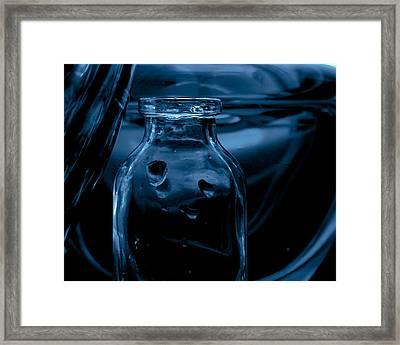 Midnight Framed Print by Bonnie Bruno