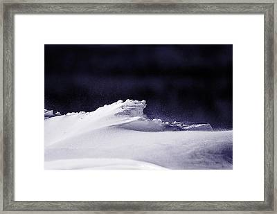 Midnight In January Framed Print by Susan Capuano