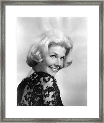 Midnight Lace, Doris Day, 1960 Framed Print by Everett