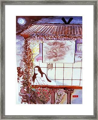 Midnight Rendezvous Framed Print