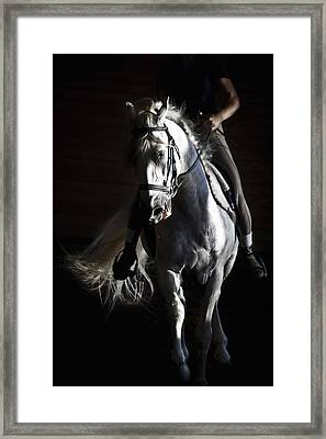 Midnight Ride Framed Print by Wes and Dotty Weber