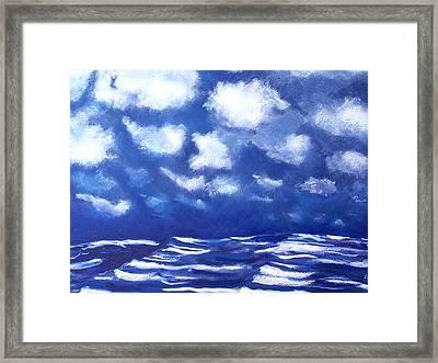 Midnight Sea Framed Print by Jon Shepodd