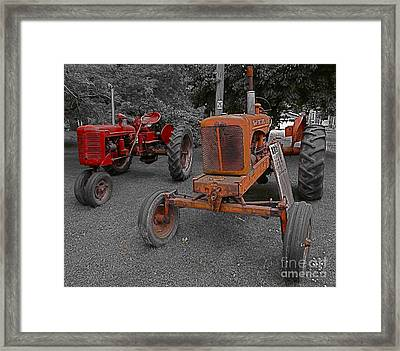Framed Print featuring the photograph Midwestern Traveler by Blake Yeager