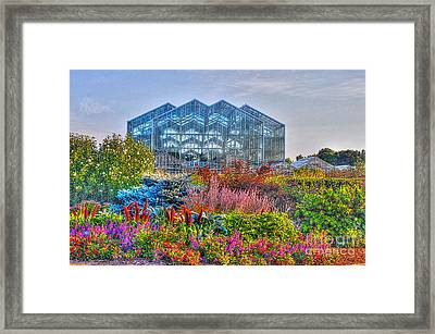 Miejer Gardens Revisited Framed Print by Robert Pearson