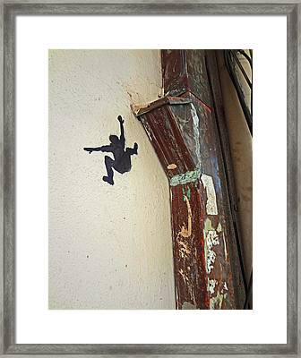 Might As Well Jump Framed Print