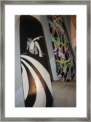 Mike Dawson Decks Framed Print by Rashaud Thomas
