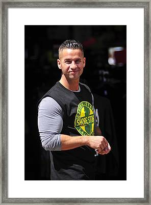Mike Sorrentino, The Situation Framed Print