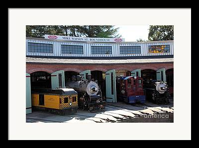 Sonoma Traintown Railroad Framed Prints