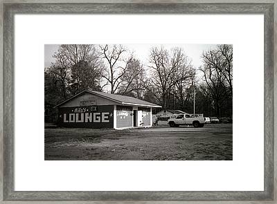 Mike's Lounge Framed Print