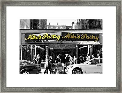 Mikes Pastry In Boston 2011 Framed Print