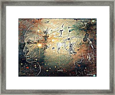 Mikrokosmos Framed Print