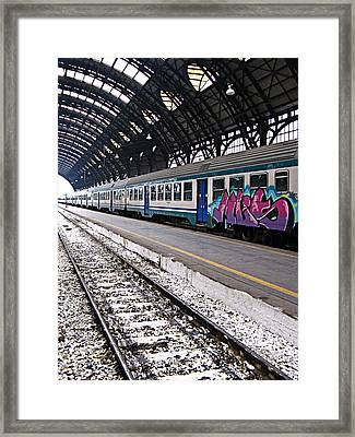 Milan Italy Fine Art Print Framed Print by Ian Stevenson