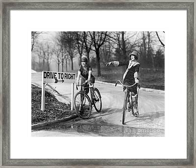 Mildred Billert And Hazel Bowman Framed Print
