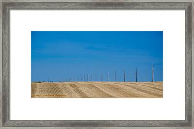 Miles And Miles Framed Print by Dan Crosby