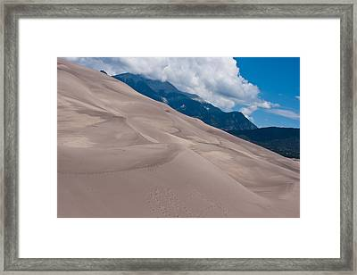 Miles Of Sand Framed Print by Colleen Coccia