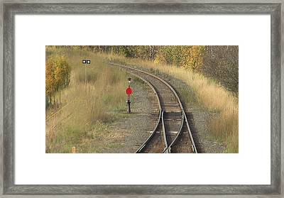 Miles To Go Framed Print